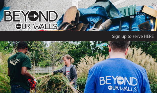 Beyond Our Walls Serving Day