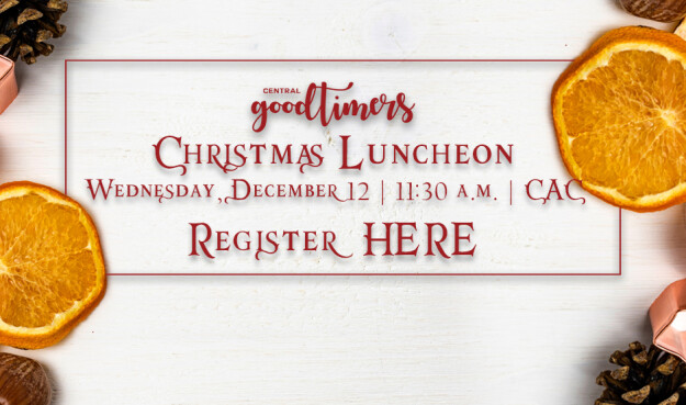 GoodTimers Christmas Luncheon