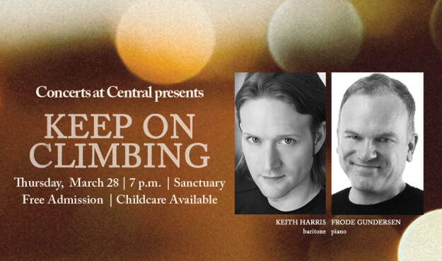 Concerts at Central Presents: Keep On Climbing